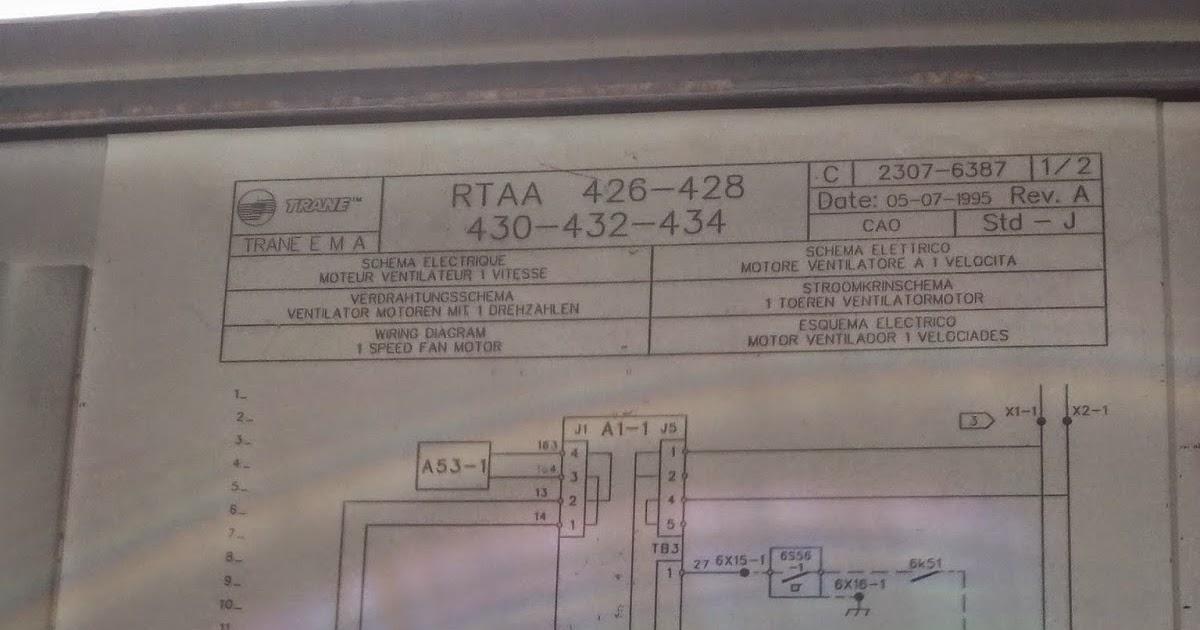 Schema Elettrico Wiring Diagram : Hvac chillers heatpump trane chiller air cooled control wiring