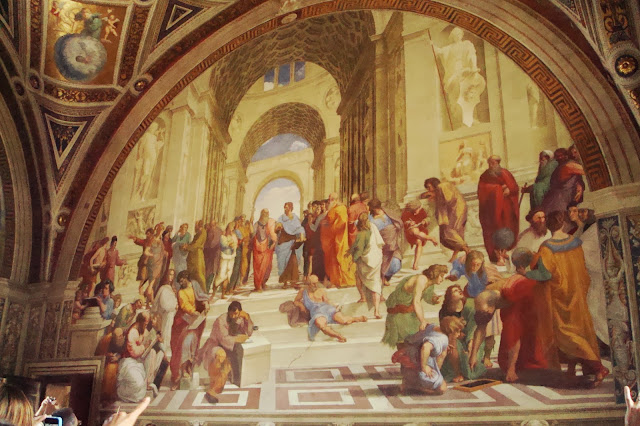 Raphael, The School of Athens, Vatican museums