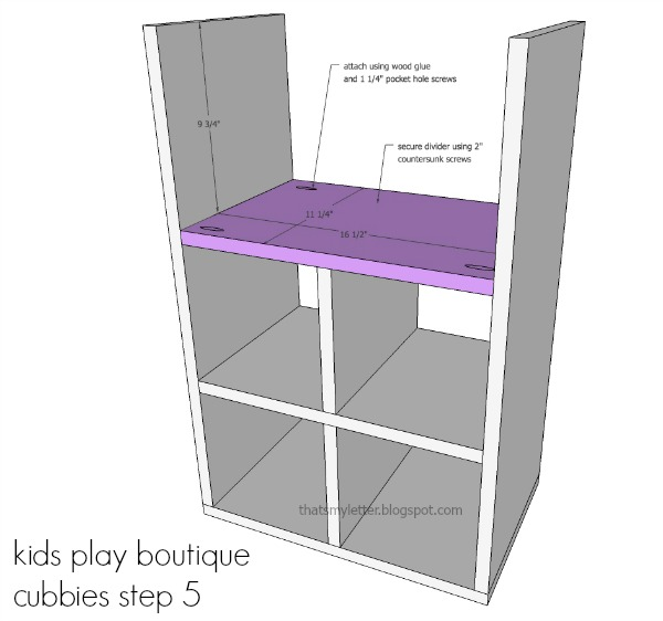 diy kids playstand boutique cubbies