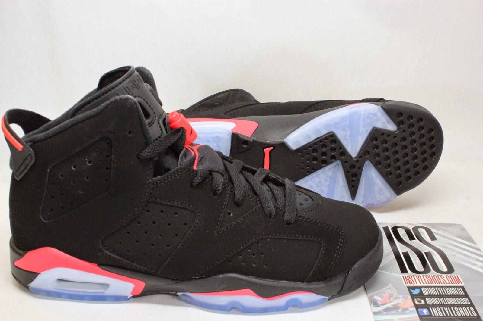 Jordan Brand Nike Air Jordan 6 Retro OG Infrared (Black