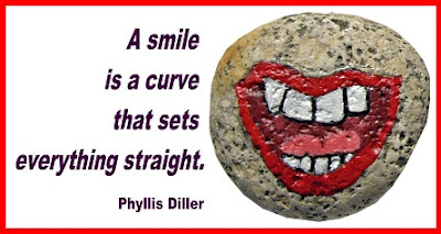 rock painting, smile, quote, painted rocks, Stony Face, mouth