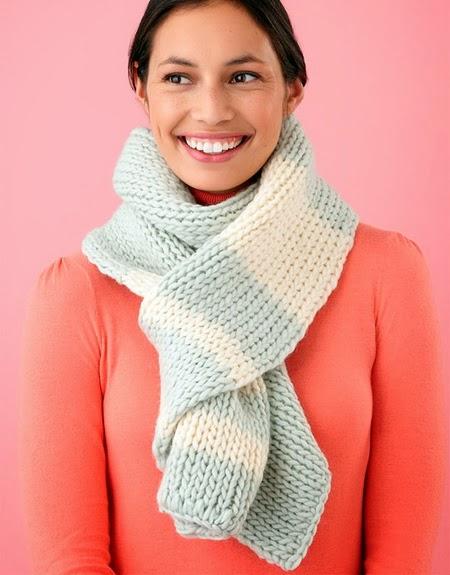 Как связать шарф для женщин