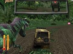 لعبة الهروب من غابة الديناصورات Tyrannosaurus Run اون لاين - العاب 3d