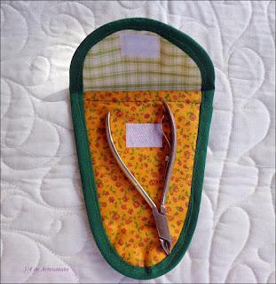 porta alicate confeccionado em tecido