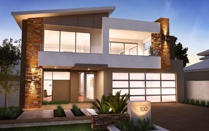 gambar rumah minimalis modern 2 lantai terbaru