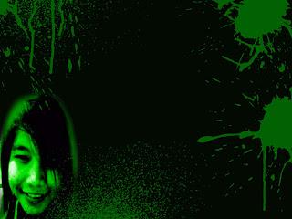 genelyn de jesus green background