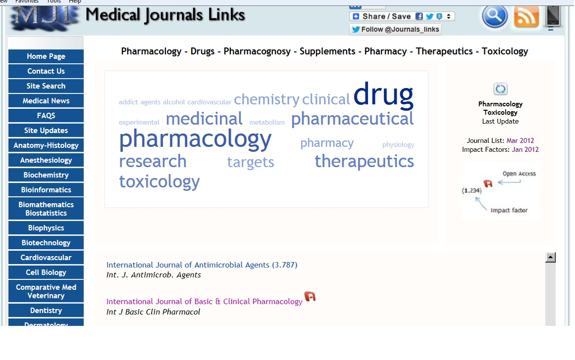International Journal of Basic and Clinical Pharmacology (IJBCP)