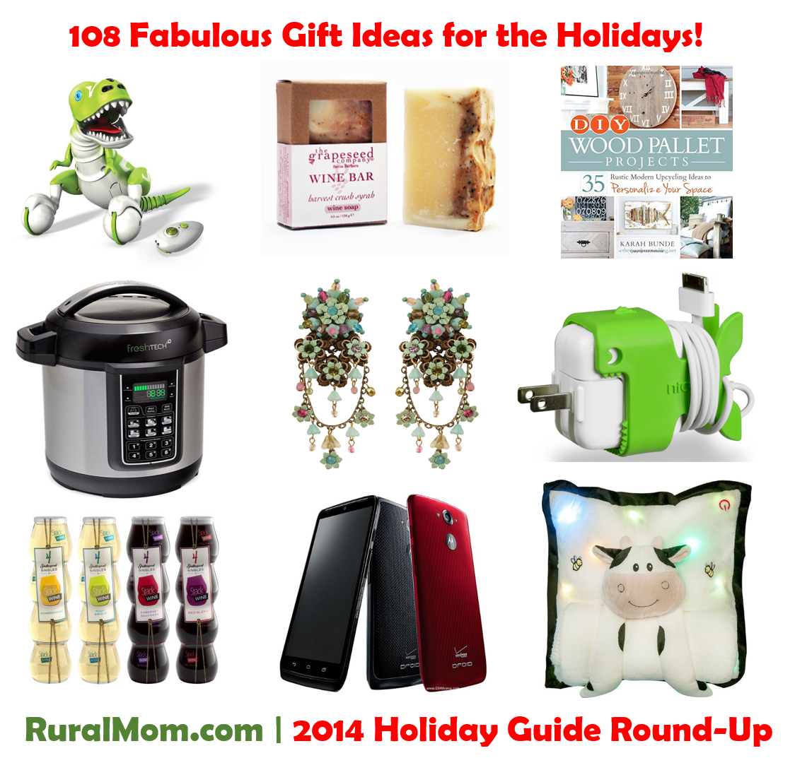 108 Fabulous Gift Ideas for the Holidays! Rural Mom 2014 Holiday Guide Round-Up