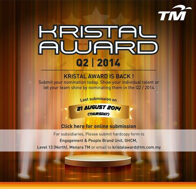 KRISTAL AWARD Q2 / 2014