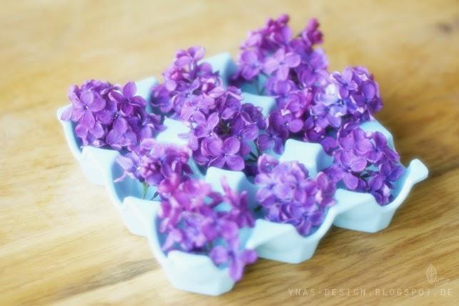 Ynas Design Blog, Flowerdecoration, Flieder, Lilac