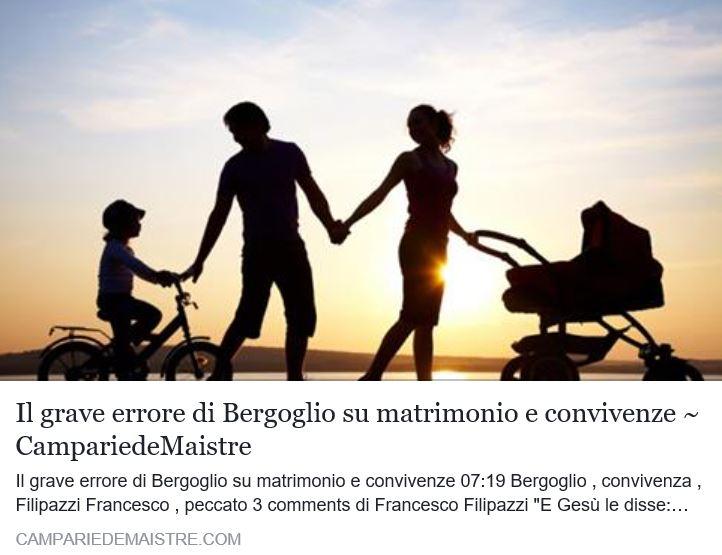El heresiarca Bergoglio intenta  anular el pecado mortal