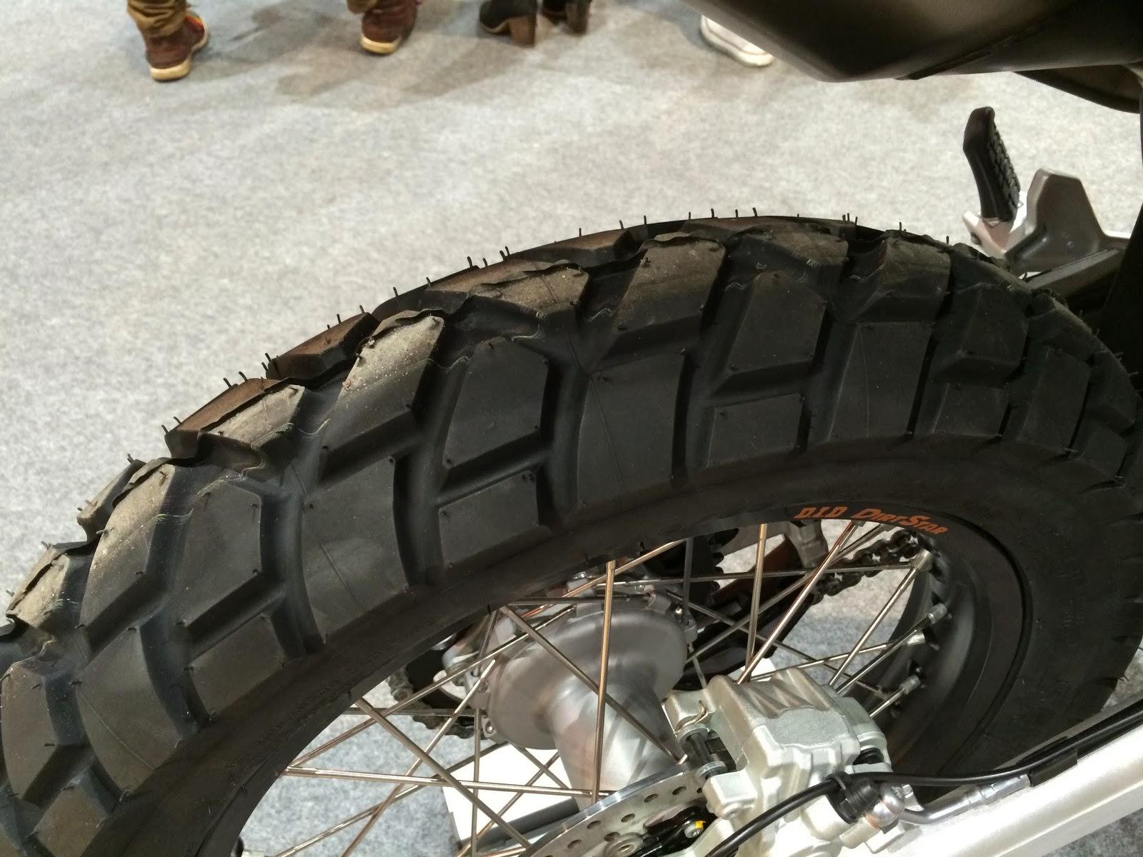 2014 KTM 690 Eduroro R rear tyre pattern