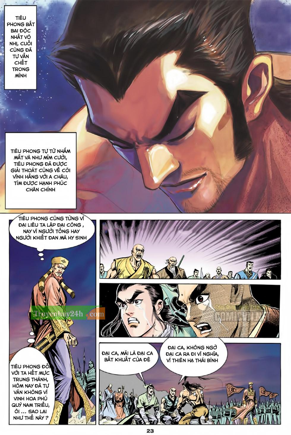 Thiên Long Bát Bộ chap 100 – End Trang 24 - Mangak.info