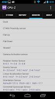 Moto X CPU-Z Information