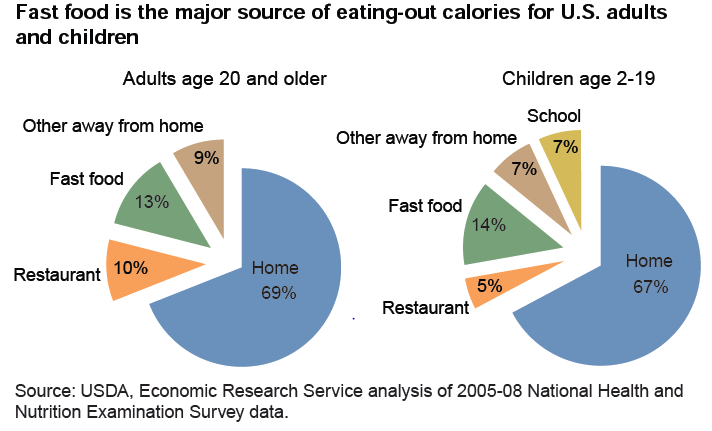 Statistics on obesity and fast food