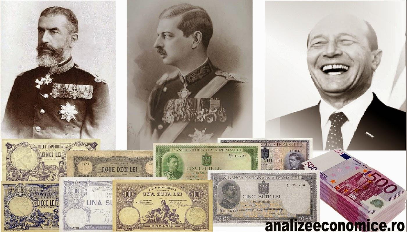 Țepele și tunurile, trase bugetului, de la Carol I la Băsescu