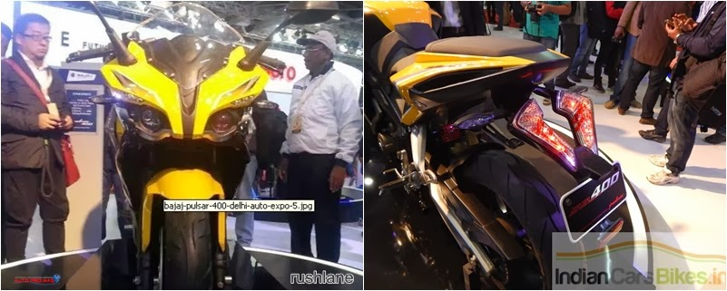 all pulasr 400SS pics from autoshow 2014