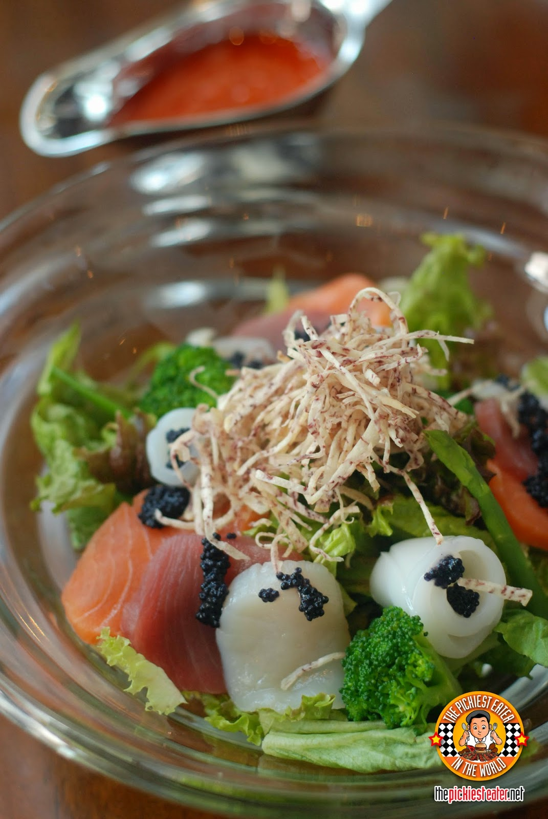 Mixed Sashimi Salad