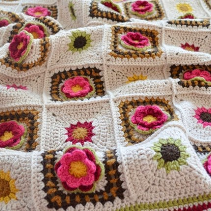 Country Rose - Free Pattern