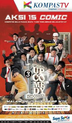 Stand Up Comedy Season 3 semakin memanas