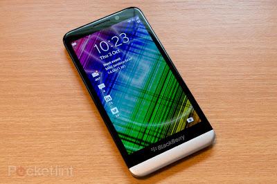 بلاك بيرى Z30 ، شاشة 5بوصات ، معالج Snapdragon S4