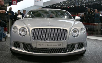 Bentley-Continental-GT-Front-View