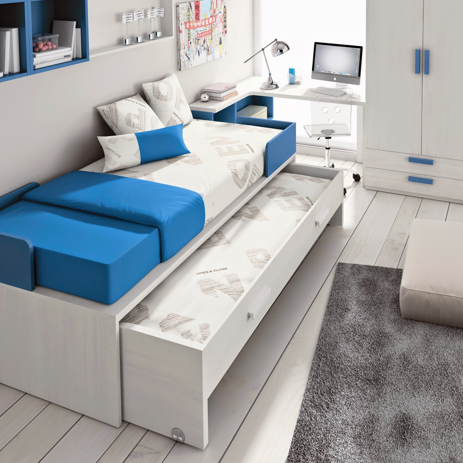 Camas nido muebles ros ahorrar espacio for Cama nido dos camas