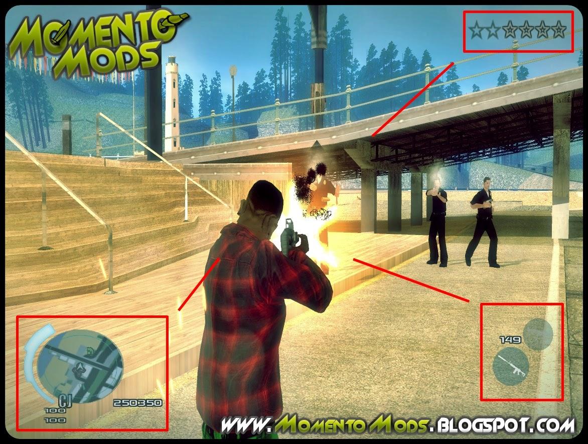 GTA SA - C-HUD Assassins Creed III