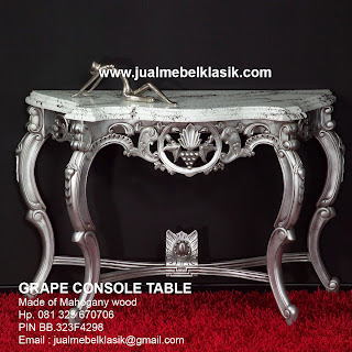 Supplier Indonesia Classic Furniture Classic Console Table mahogany classic carved console table