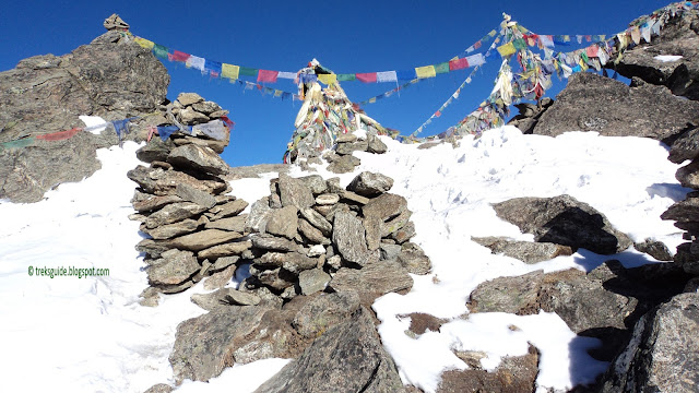 Gokyo-ri, 5400m, Everest view point