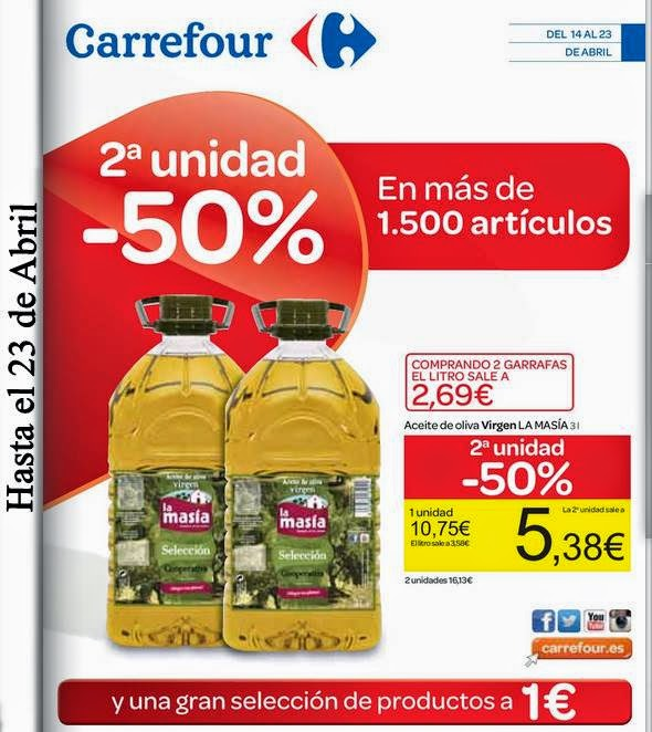 Catalogo Carrefour 50% abril 2015