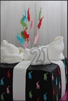Ideas for 21st Cakes. Let us design a special cake for you.