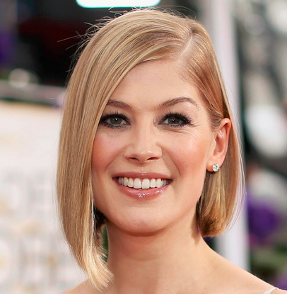 ROSAMUND PIKE GOLDEN GLOBES