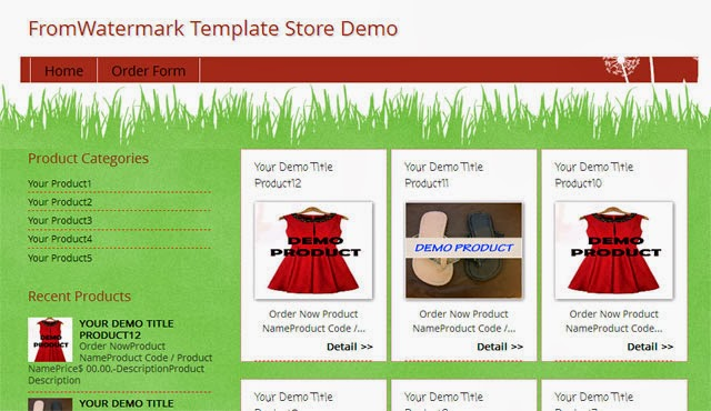 fromwatermark blogger store template