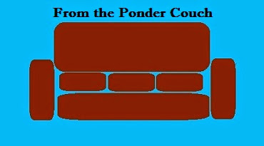 From the Ponder Couch