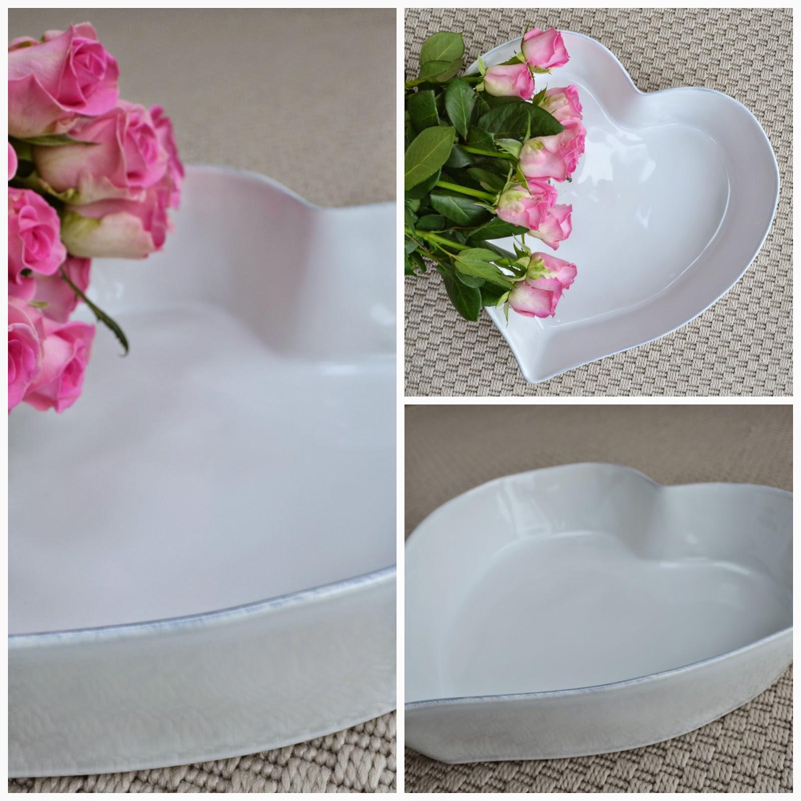 The White Company heart bowl
