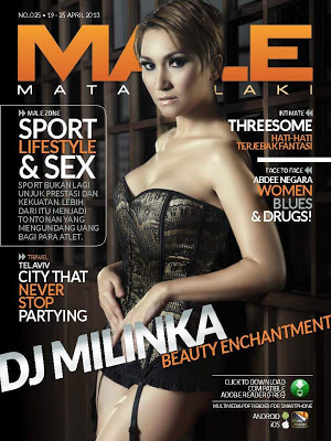 Dj Milinka Model Male Magazine Edisi 025