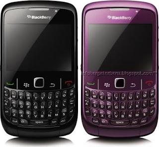 Harga Blackberry Curve 8530 Spesifikasi 2012
