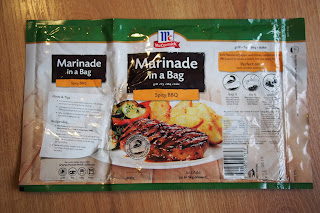 McCormick Marinade in a bag - Spicy BBQ