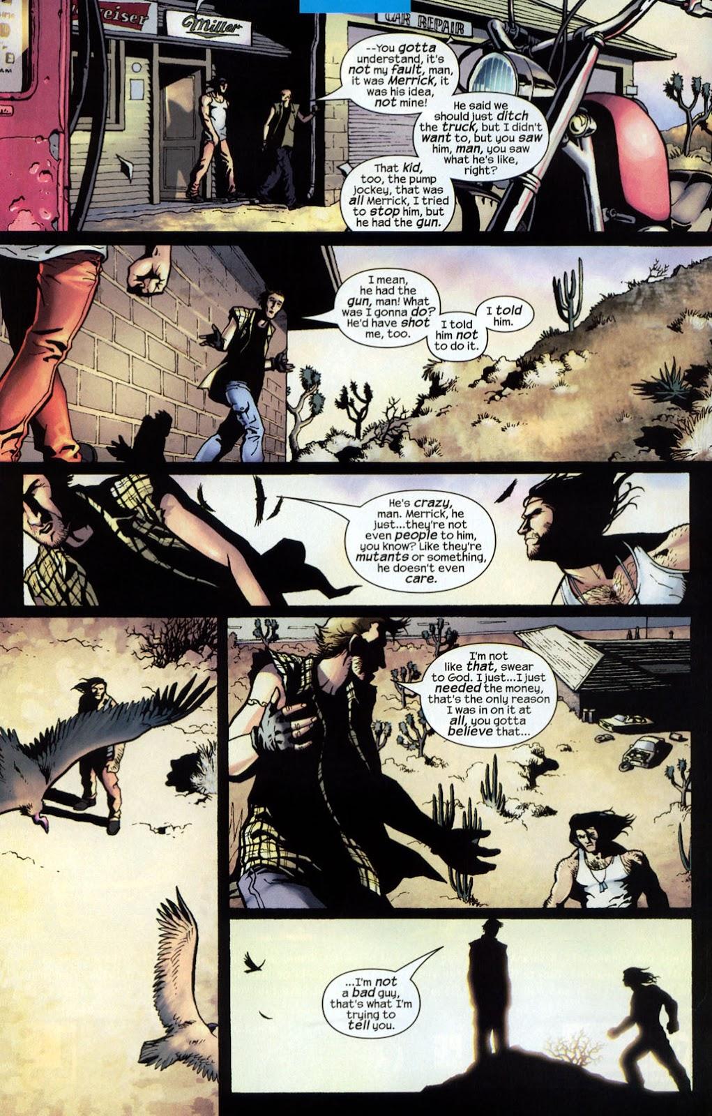 Read online Wolverine (2003) comic -  Issue #7 - 10