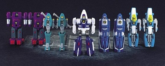 Machine Robo Best 5 Rescue Bandai robots www.gangustars.com