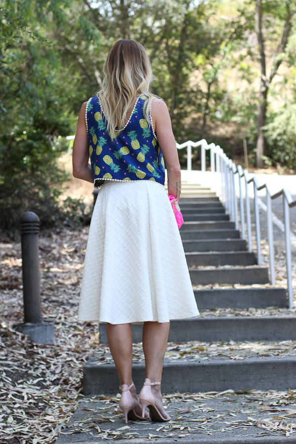cream midi skirt nordstrom
