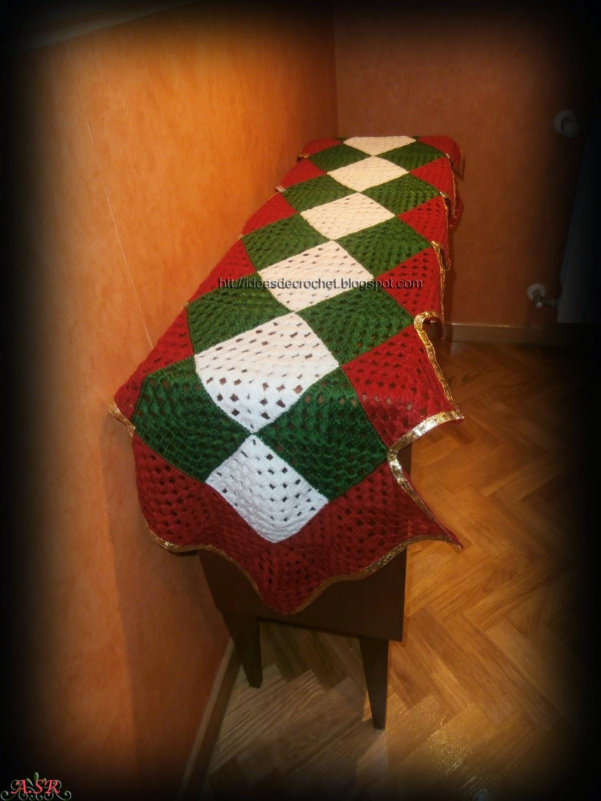 Ideas de crochet noviembre 2014 for Camino de mesa elegante en crochet
