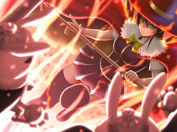 ayaki kagari witch craft works anime 2014 hd wallpaper