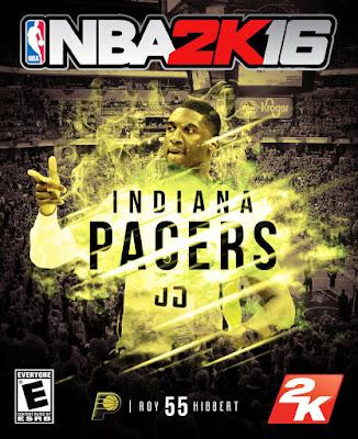 NBA 2K16 Custom Covers - Indiana Pacers