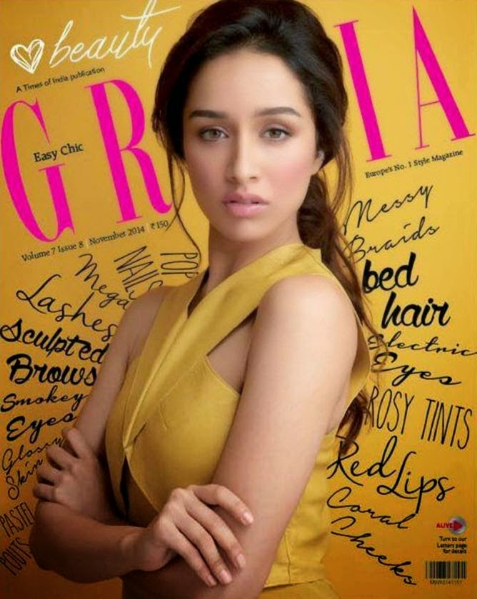 Shraddha kapoor Grazia latest Cover Photos