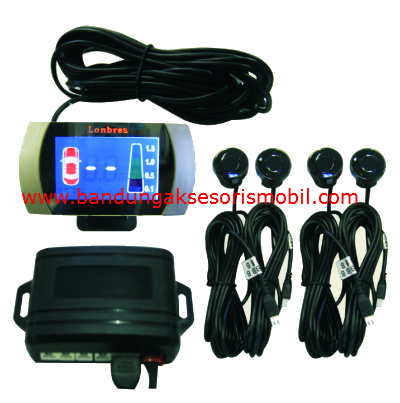 Parking Sensor Lux Lonbres 4 Mata W/Display Segi