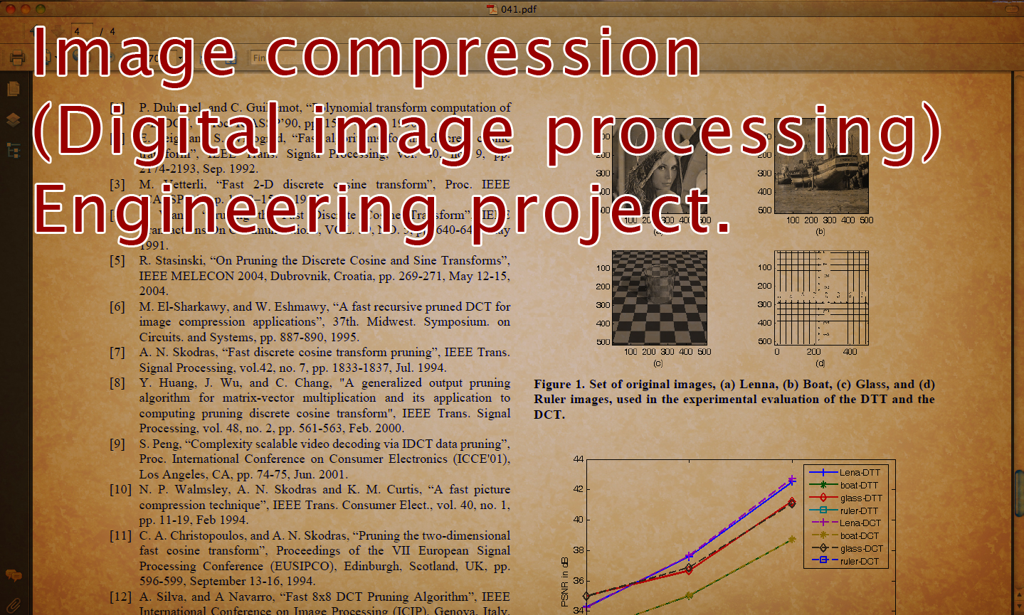 term paper image processing Abstract this paper is about a selected few image processing applications optical character recognition is the translation of images of handwritten, typewritten or printed text into machine-editable text.