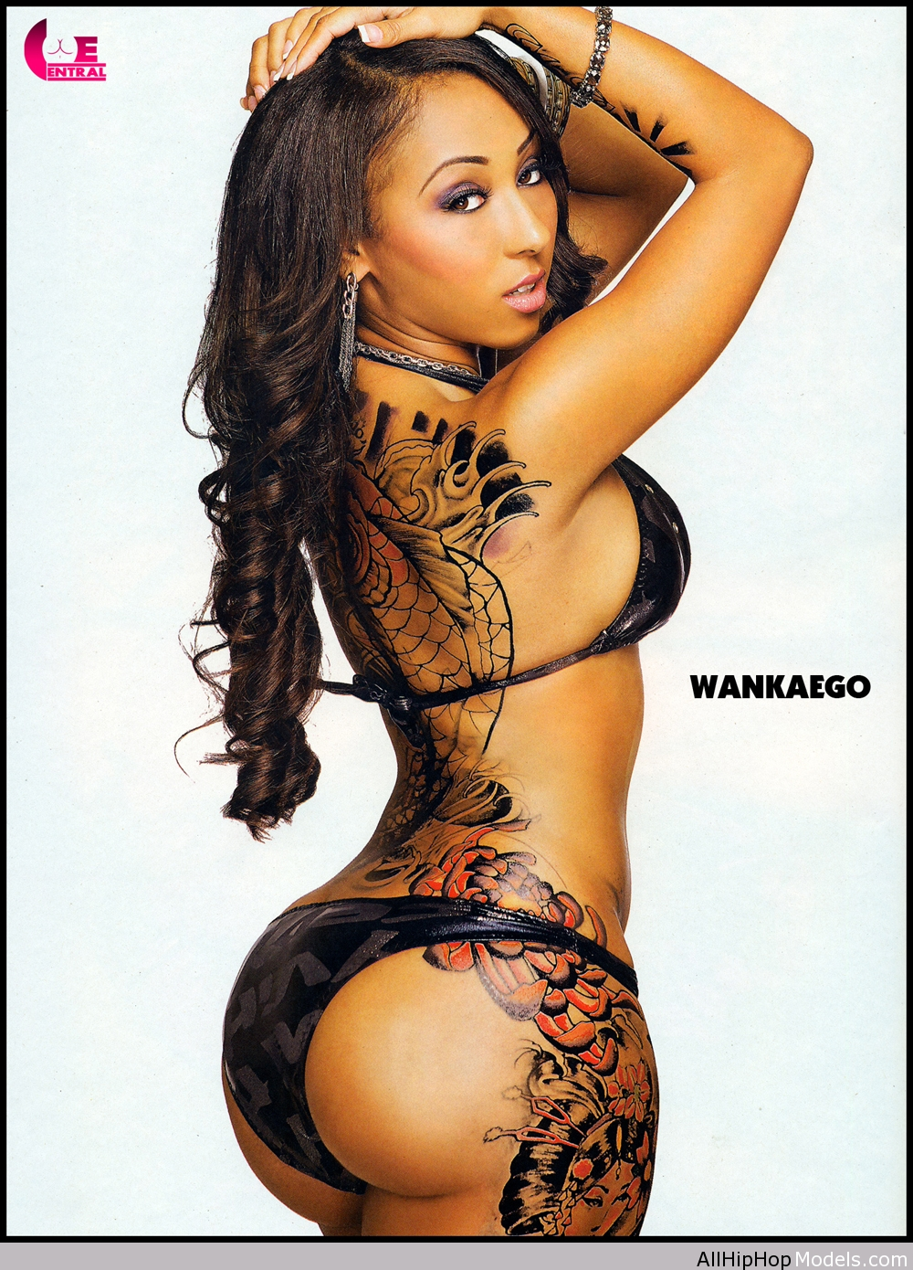"Theresa Runyon or better known as WANKAEGO is a hip-hop ""model"" and"