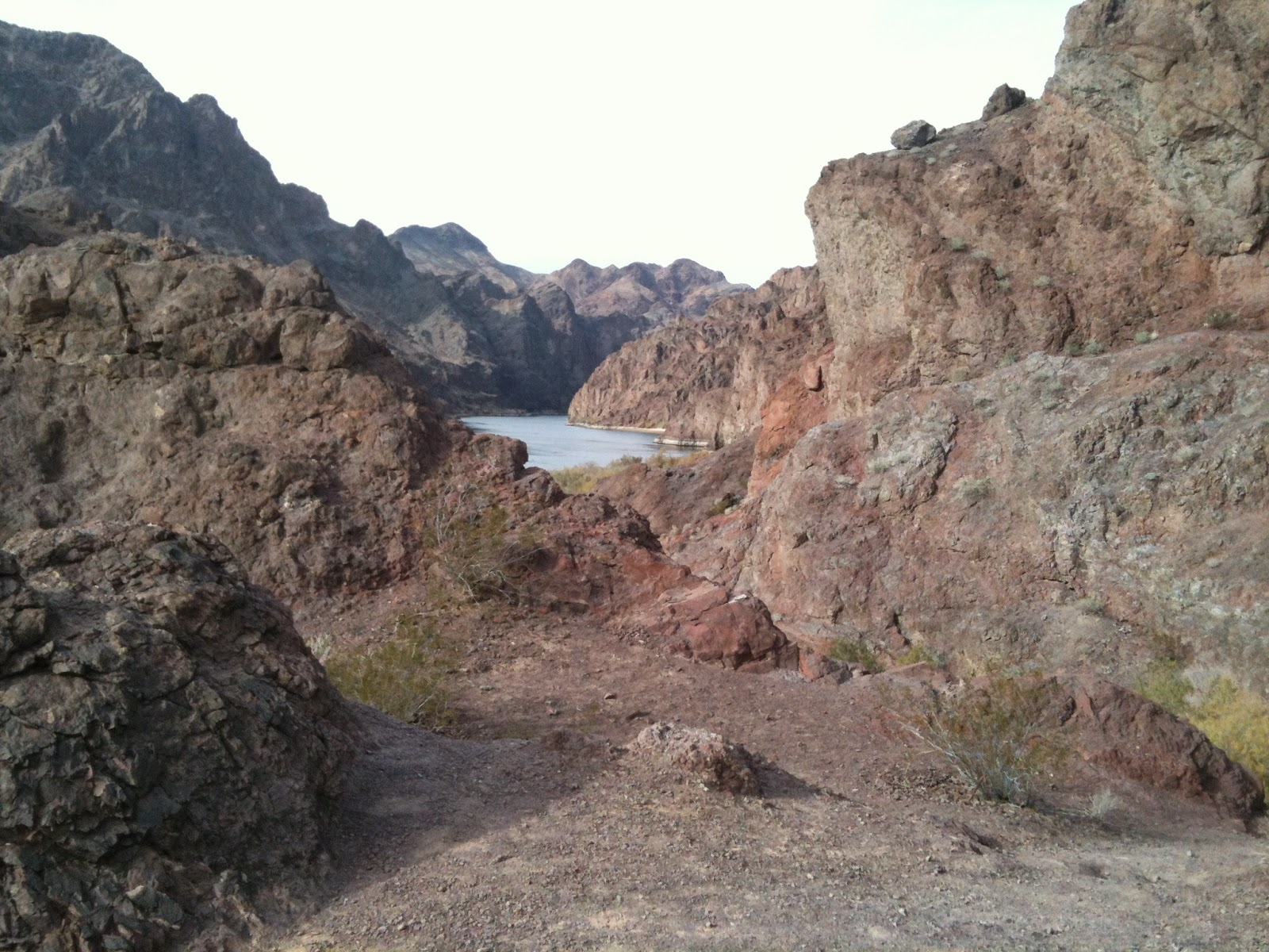 Colorado River hike
